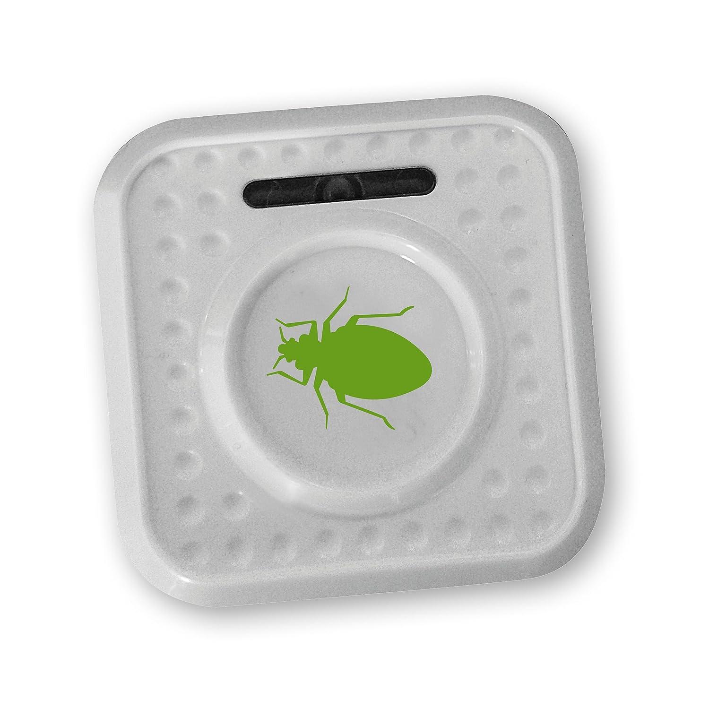 ISOTRONIC® Repelente de insectos contra chinches y ácaros, Alimentado por batería, Protección por ultrasonido y con alto alcance: Amazon.es: Jardín
