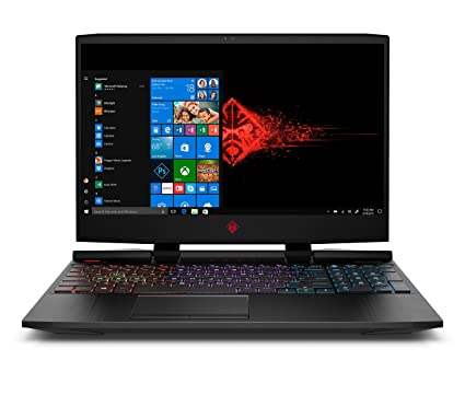 OMEN by HP 2018 15-inch Gaming Laptop, Intel i7-8750H Processor, NVIDIA GTX  1060 6 GB, 16 GB RAM,128 GB SSD, 1 TB HDD, Windows 10 (15-dc0030nr, Black)