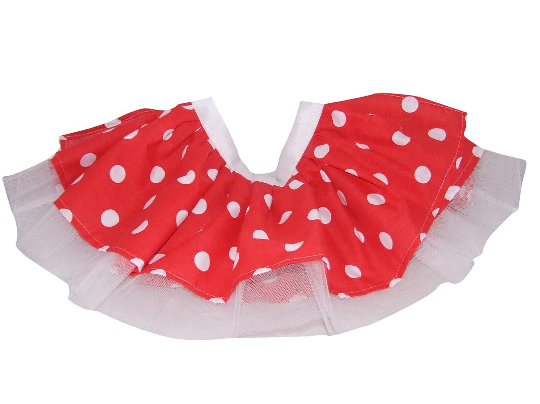Tutu Faldas para niños, lunares 50 Mujer Rojo y Blanco Diseño de ...