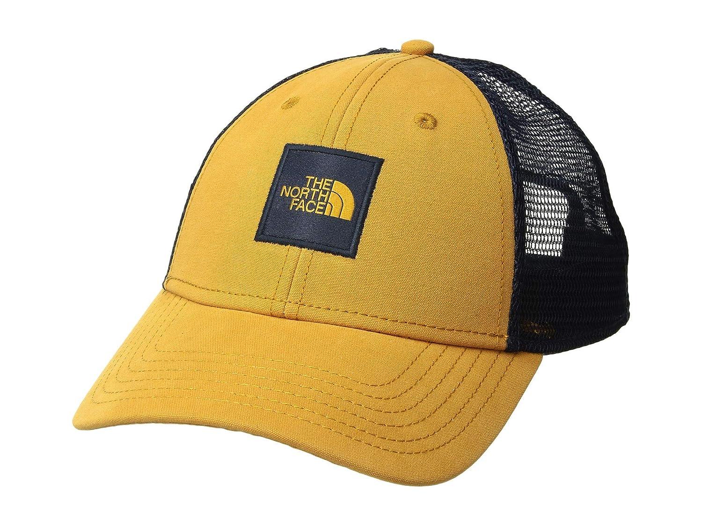 fb5fdbfb4 The North Face Men's TNF Box Logo Trucker, Citrine Yellow/Urban Navy ...