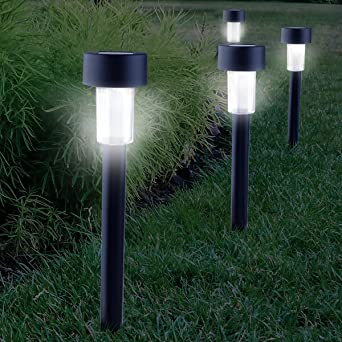 Amazoncom Cellay SolarPowered LED Garden Lights Perfect Neutral