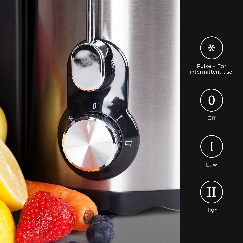 Duronic JE5 – Licuadora para frutas y verduras con jarra – 500 W ...
