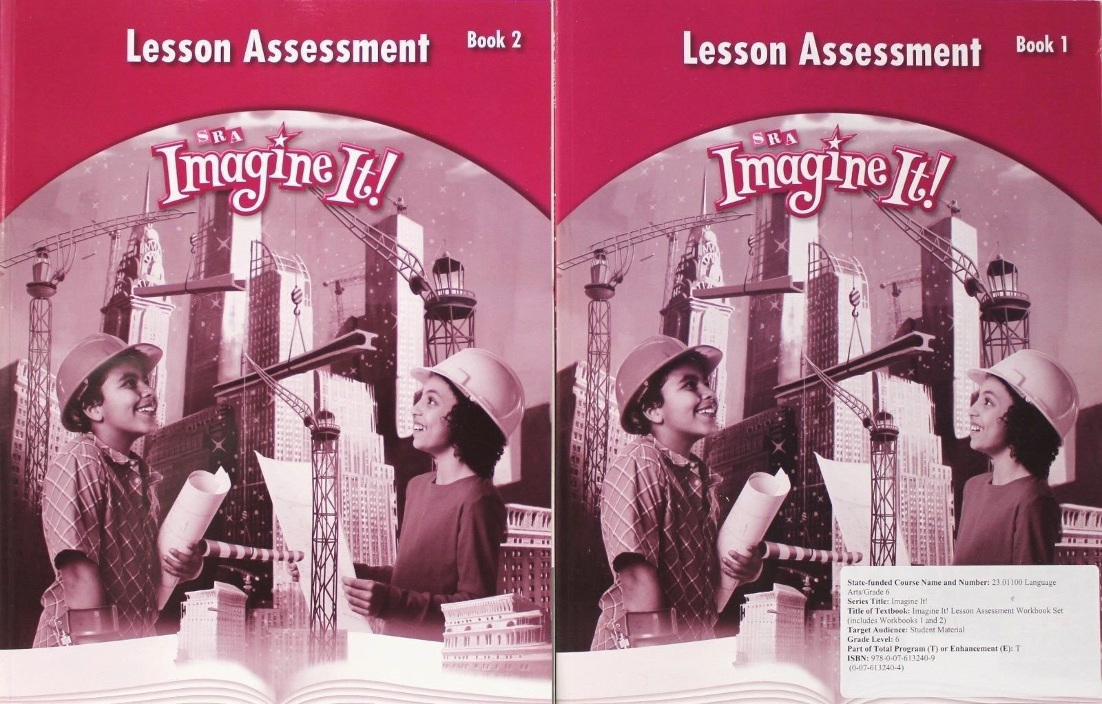 Download Lesson Assessment, Books 1 and 2, Grade 6 (SRA Imagine It!) by SRA (2008) Paperback pdf epub