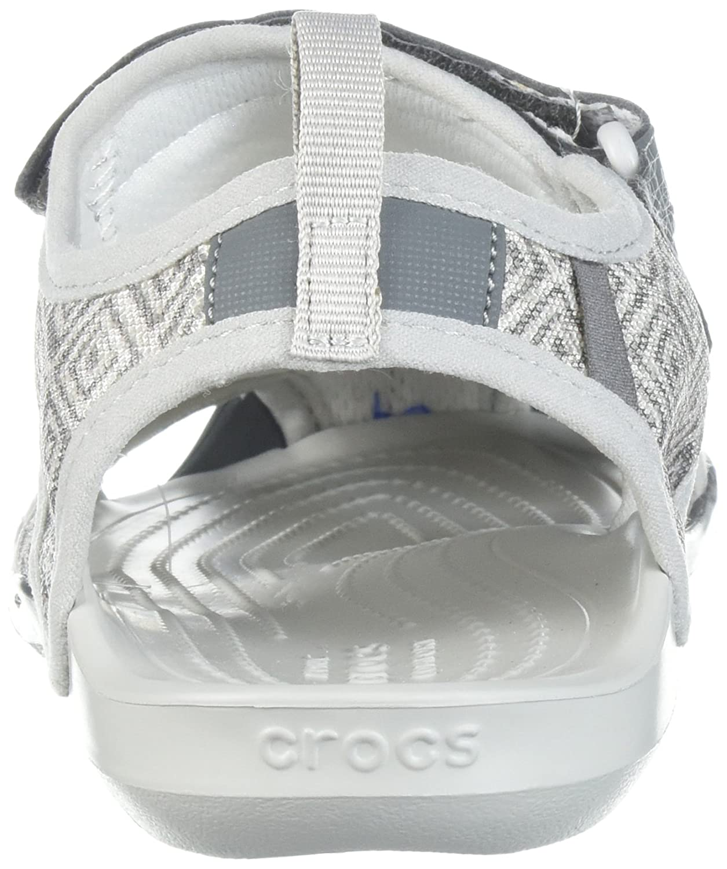3476437f6c094 crocs Women s Swiftwater Graphic Mesh SNDL Sport Sandal  Amazon.com.au   Fashion
