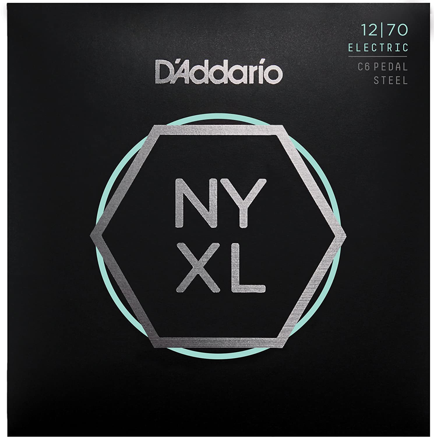Amazon DAddario NYXL1270PS NYXL Nickel Wound Electric Guitar Strings Pedal Steel Custom Medium 12 70 Musical Instruments