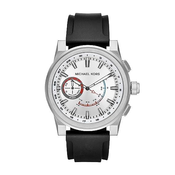 Michael Kors Reloj Analogico para Hombre de Cuarzo con Correa en Silicona MKT4009: Amazon.es: Relojes