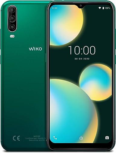 "Wiko WIKVIEW4LITEDEGST View4 Lite, Smartphone de 6.52"" HD IPS (Triple Cámara, 4000mAh para 2 días de"