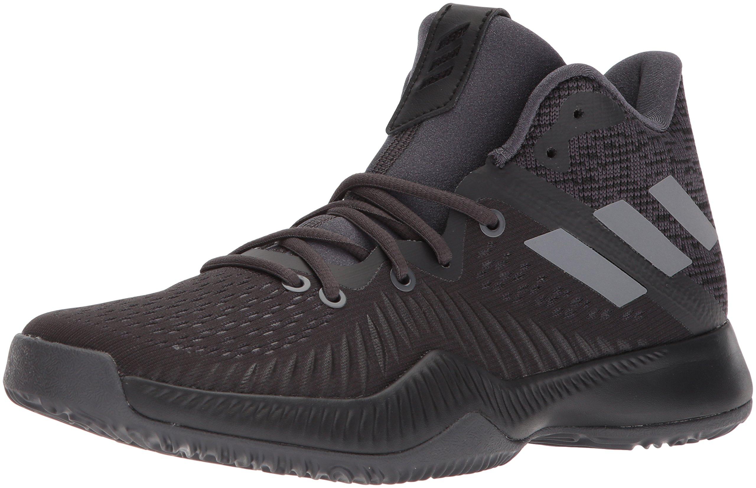 adidas Performance Men's Mad Bounce Basketball Shoe, Utility Black/Core Black/Grey Four, 11 M US