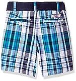 U.S. Polo Assn. Boys' Toddler Short, Walking Plaid