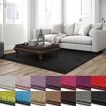 Shaggy Teppich Barcelona | weicher Hochflor Teppich für Wohnzimmer ...