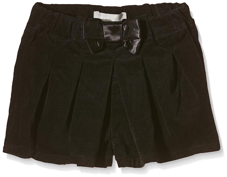 NAME IT M/ädchen Short Nitpansy M Velour Shorts 615