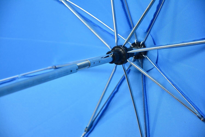 UV-Schutz50+ Sonnensegel Sonnenschutz Universal Sonnenschirm Regenschirm f/ür Kinderwagen und Sport Buggy Red-Grau Babywagen Schirm mit Universal Halterung