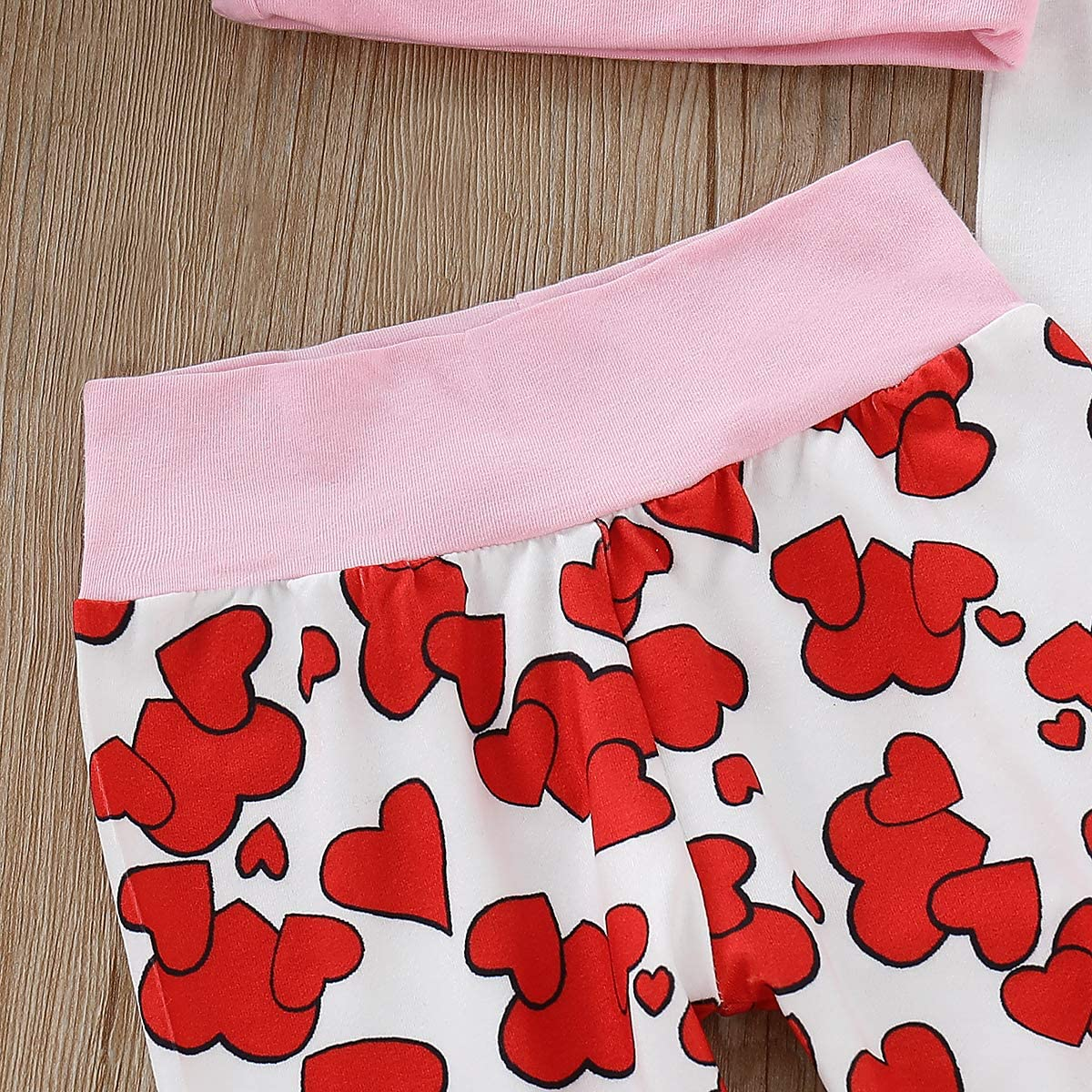 ModnToga My First Valentines Day Outfit Set Baby Girls Boy Cute Romper