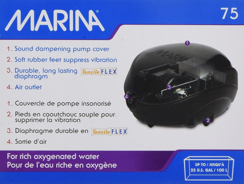 Marina Compresor de Aire 75, 500-100 L: Amazon.es: Productos para mascotas