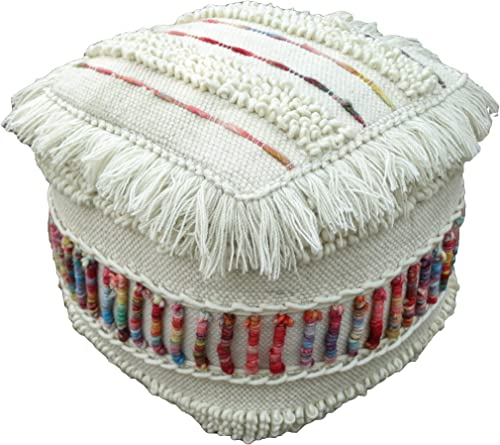 Christopher Knight Home Roth Boho Wool Pouf