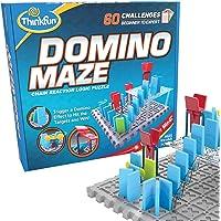ThinkFun 44001012 Domino Maze Chain Reaction Logic Puzzle Game