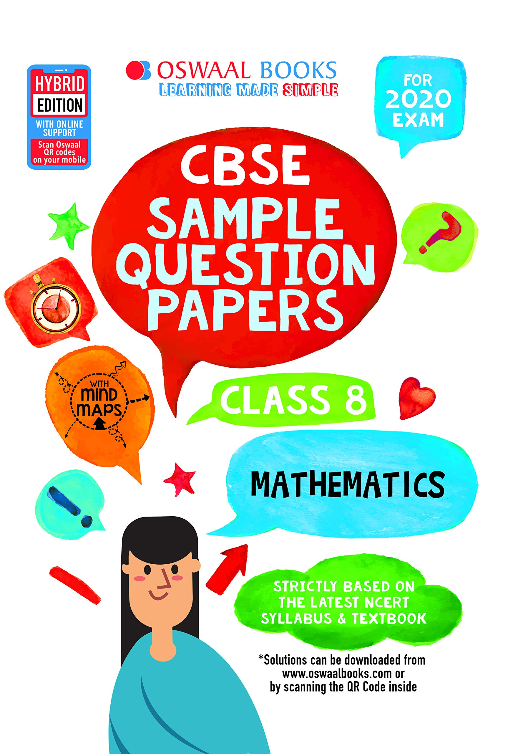 Oswaal CBSE Sample Question Papers Class 8 Maths For March