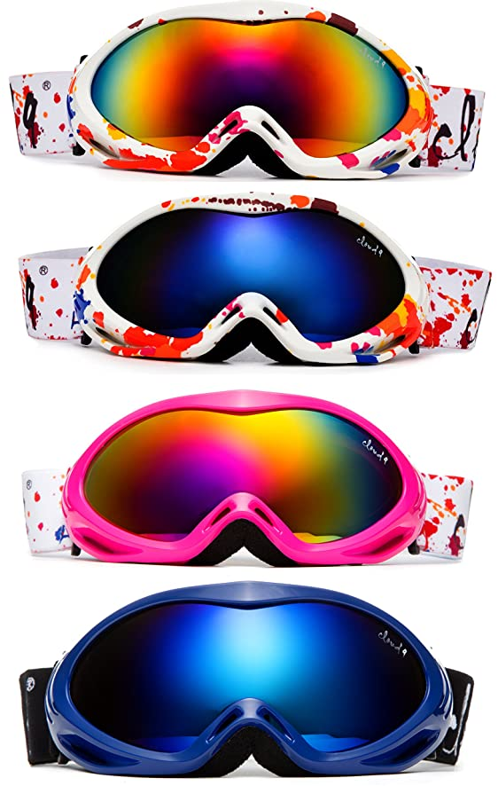 e51488435066 Cloud 9 -Professional Kids Toddler Snow Goggles