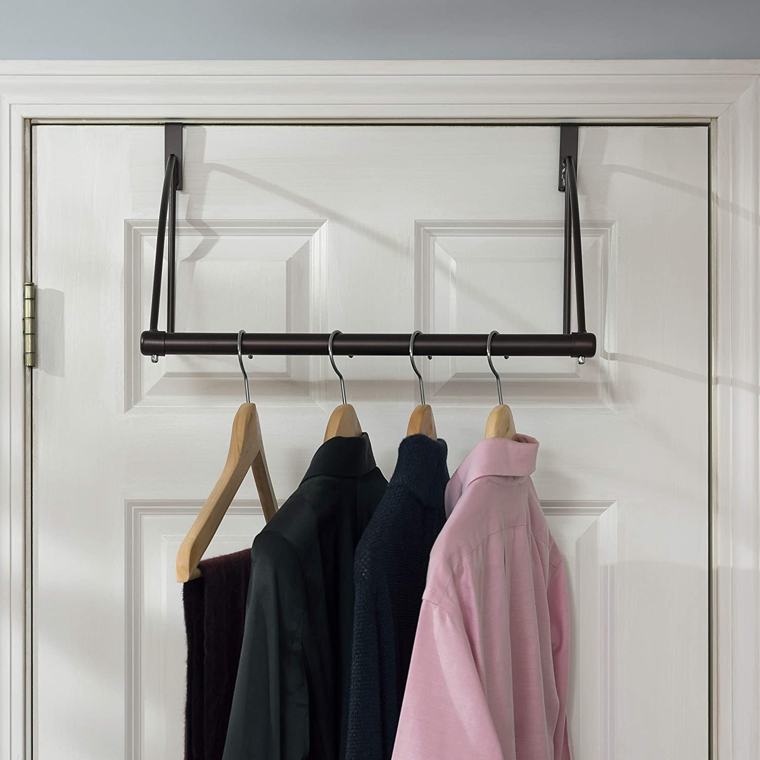 Home Basics Over The Door Rack Hanger HDS Trading Corp DH45393