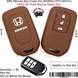SFK Silicone Smart Key Cover for New Honda City (2014+) (Only for Push Button Start Models)
