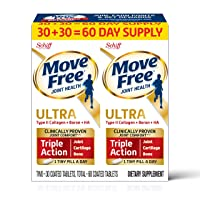 Type II Collagen, Boron & HA Ultra Triple Action Tablets, Move Free (60Count in...