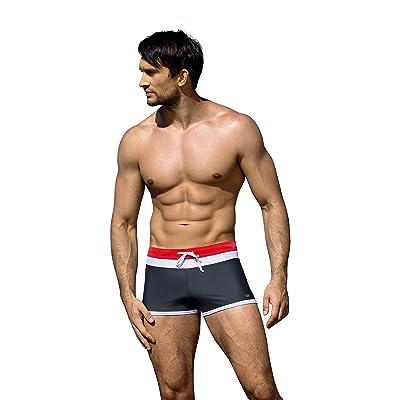 Maillot de bain homme boxeur culotte de bain maillot de compétition
