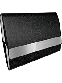 Business card holders amazon office school supplies desk bolier leather business colourmoves