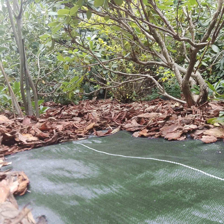 5m x 1m Gartenvlies Unkrautvlies Saferide Bodengewebe 100g Unkrautschutzfolie 5m2