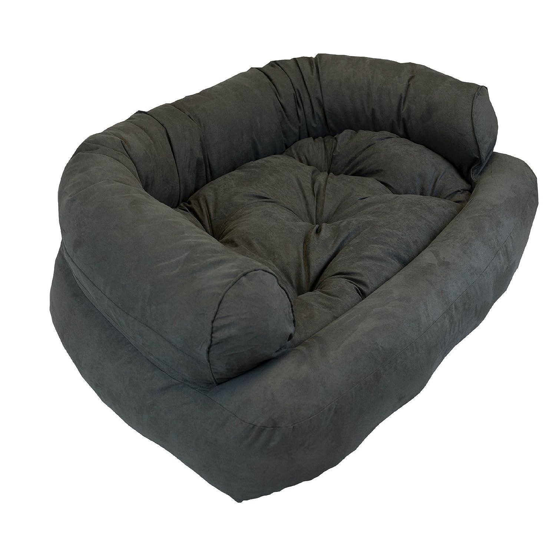 Amazon Snoozer Overstuffed Luxury Pet Sofa Peat