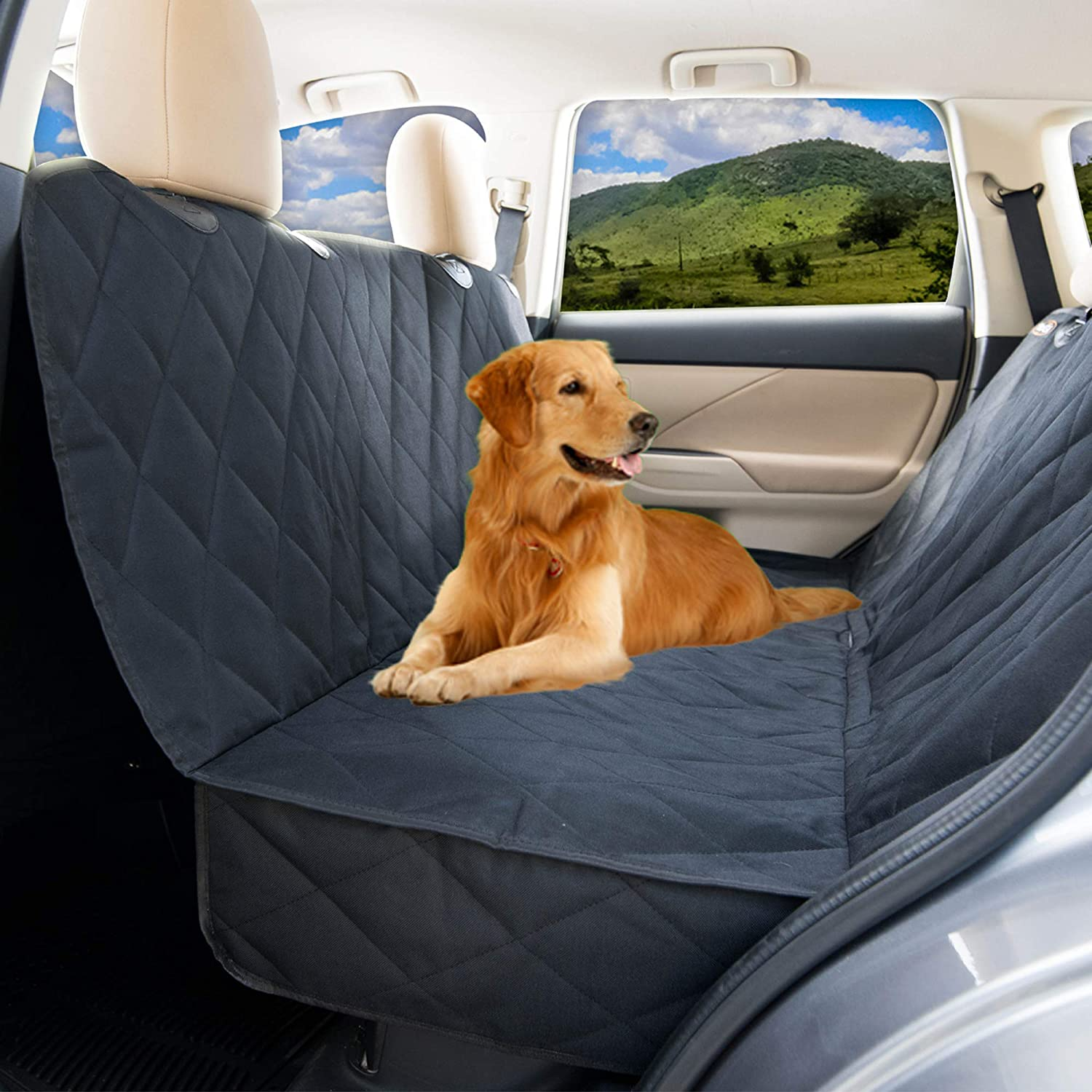 Dog Seat Covers For Trucks >> Dog Seat Covers For Cars By Yogi Prime Luxury Dog Car Hammock Style Waterproof Car Seat Covers For Dogs Pet Seat Protectors For Trucks Suvs Xl