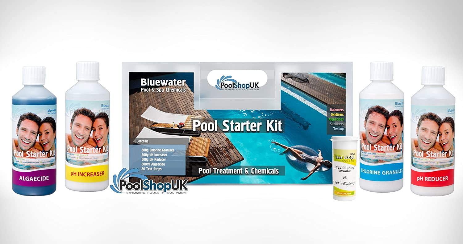 Bluewater Above Ground Swimming Pool Chemical Starter Kit Swimming Pool Supply