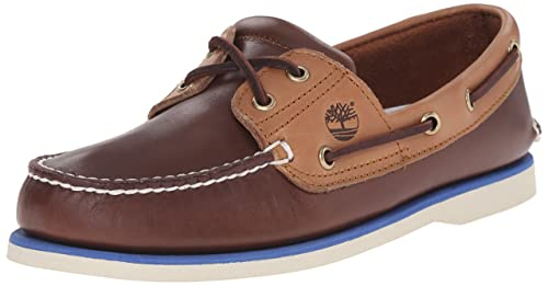 614248b420 Timberland Men's Classic Boat 2 Eye Boat Shoe