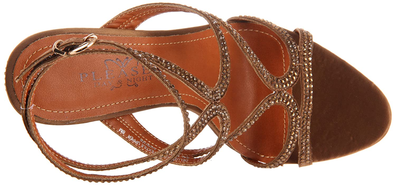 Pleaser Womens Deluxe-620RS//BZSA Platform Sandal