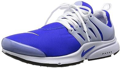 nike air presto concorrente blu - bianco uomini scarpe da corsa 11 uk / india