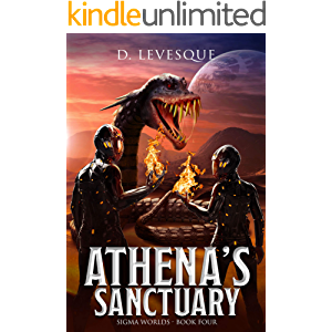 Athena's Sanctuary: Sigma Worlds Book 4, a LitRPG series