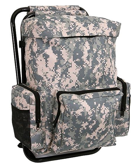 59e48931973f Amazon.com  Rothco Backpack and Stool Combo Pack