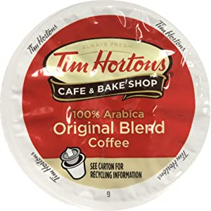 Tim Horton's Single Serve Coffee Cups, Original Blend, 80 Count - Packaging May Vary