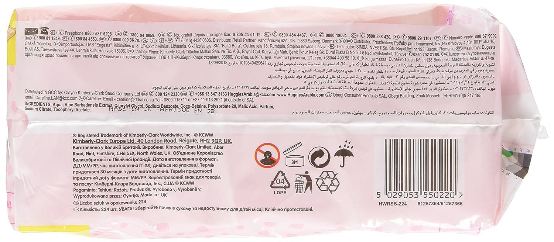 Huggies Soft Skin Toallitas para Bebé - 4 Paquetes: Amazon.es: Salud y cuidado personal
