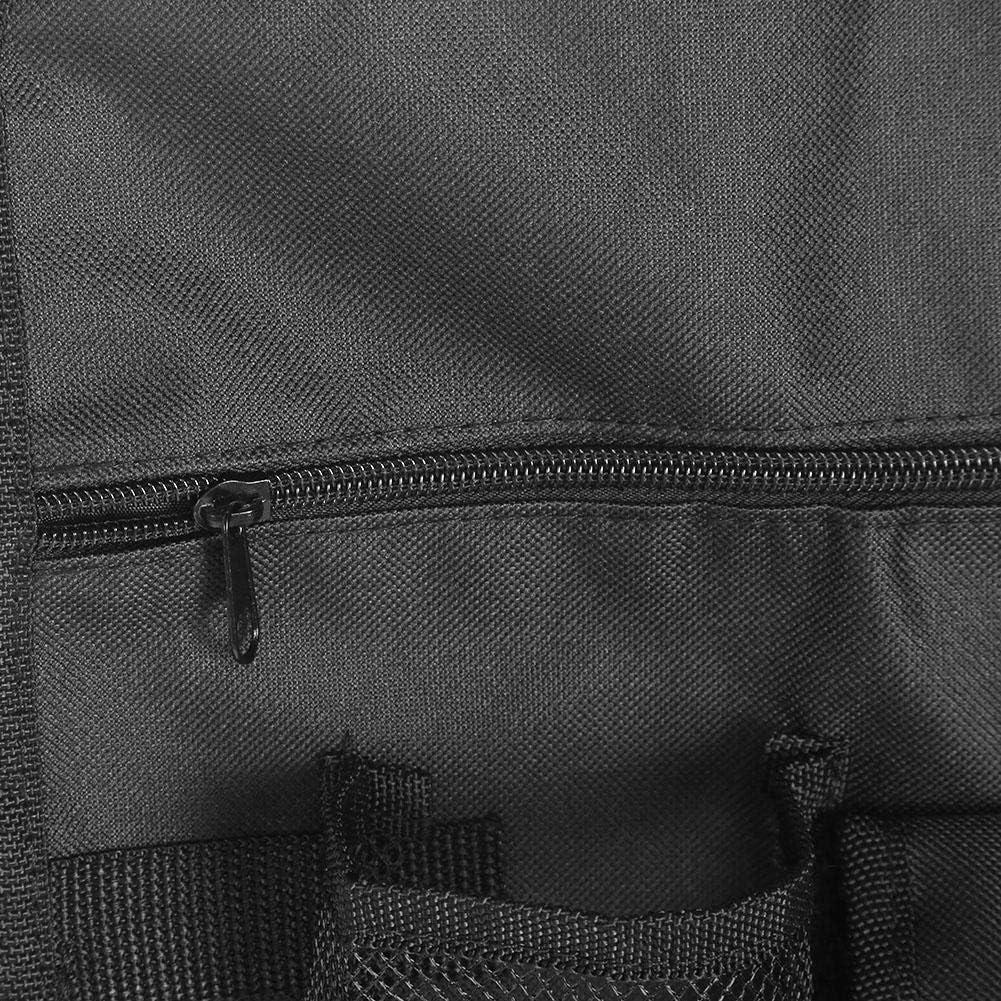 schwarz Outdoor St/ühle H/ängende Aufbewahrungstasche Seitentasche Tragbare Outdoor Camping Strand Sitz H/ängetaschen Aufbewahrung Umh/ängetasche Strandkorb Handliche Tasche