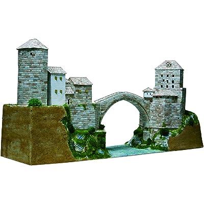 AEDES Aedes1204 Mostar Bridge - Kit de Modelo (37 x 26 x 7 cm): Juguetes y juegos