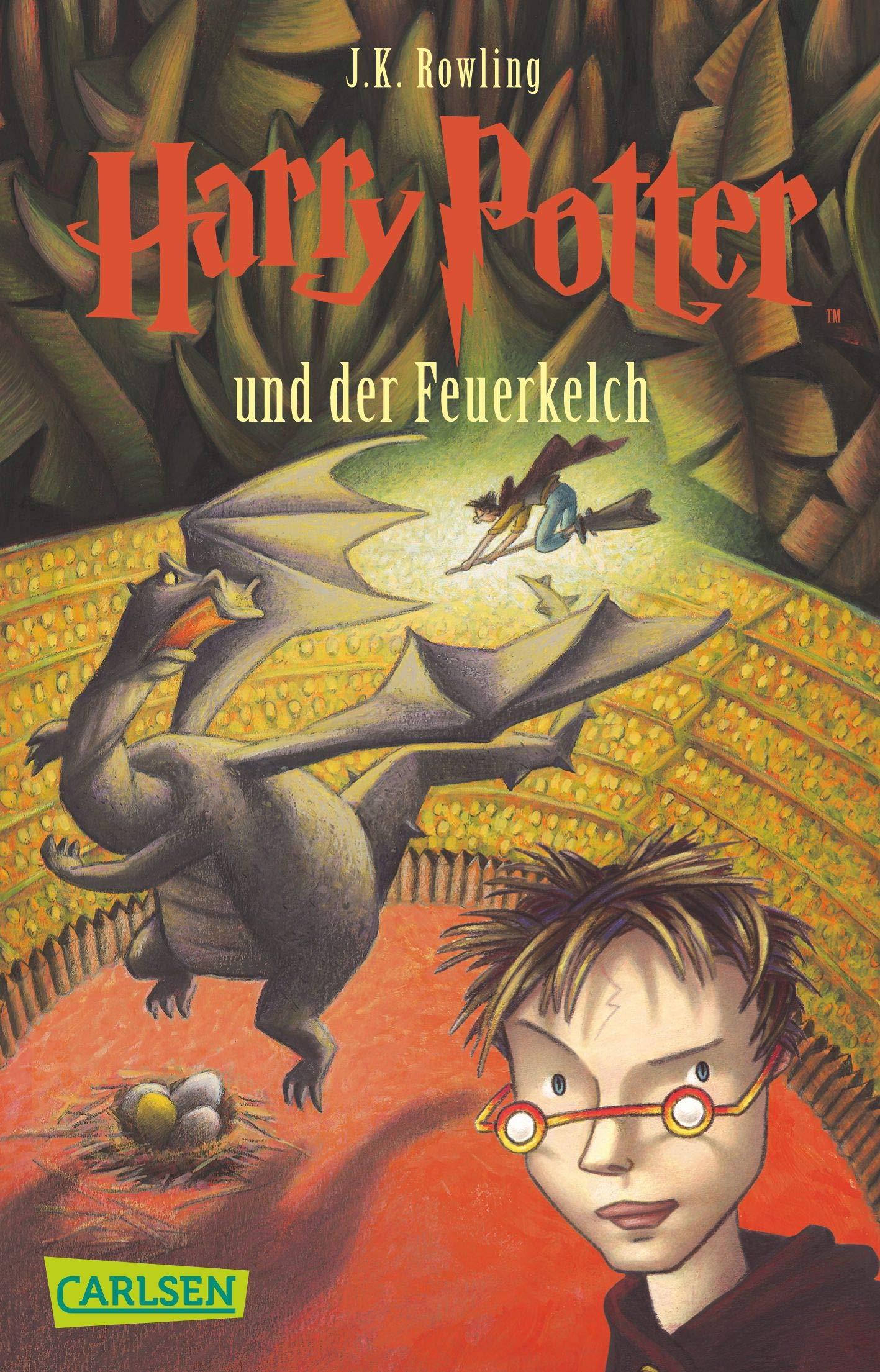 Harry Potter Und Der Feuerkelch German Edition Rowling J K 9783551354044 Amazon Com Books