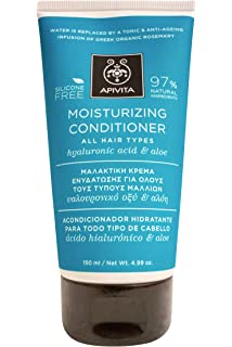 Apivita - Acondicionador hidratante todo tipo cabello ã cido hialurónico & aloe