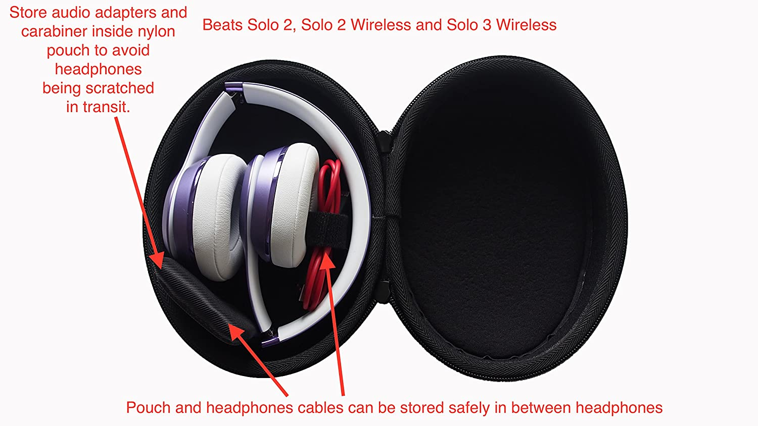 Upgrade Case For Sony Hear On Mdr 100aap 100abn Beats Studio Headphone Solo Hd1 Hi Resolution Images