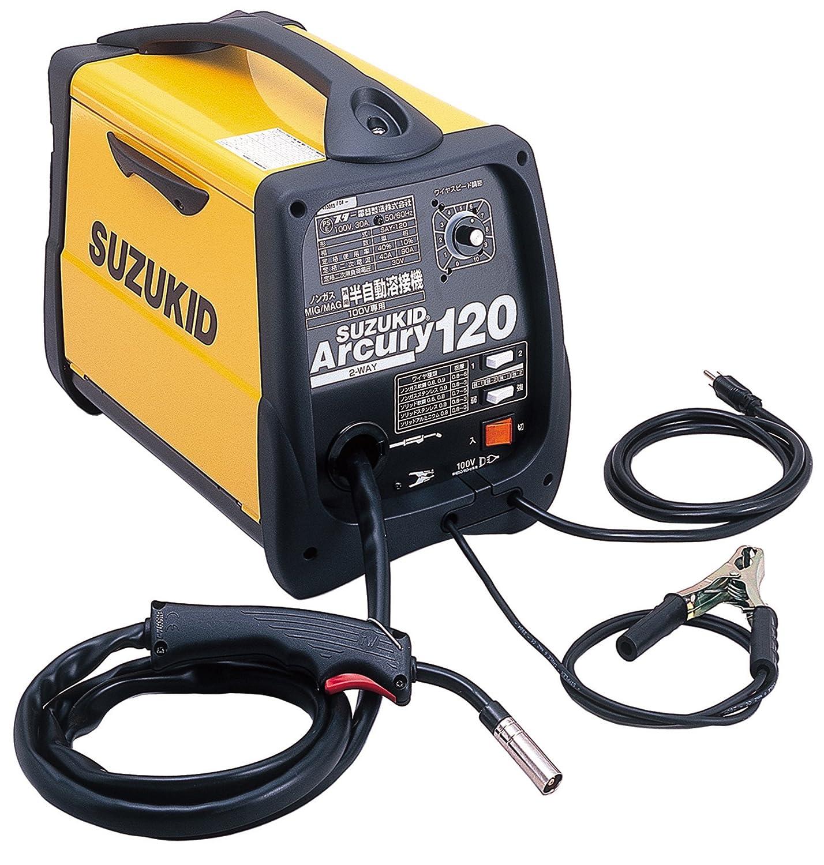 アーキュリー120 100V専用ノンガス・ガス兼用半自動溶接機