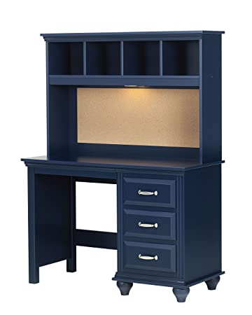 Lang Furniture Madison Desk Hutch With Light, 12 By 45 By 30 Inch,