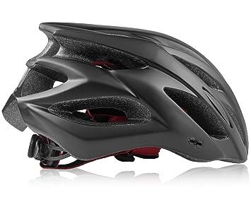 Richus Casco de Bicicleta con Visera Desmontable Casco de Ciclismo Sport Cascos de Bicicleta livianos para