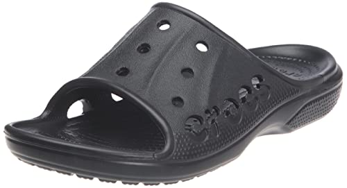 Crocs Baya Slide, Mixte Adulte Sandales, Noir (Black), 36-37