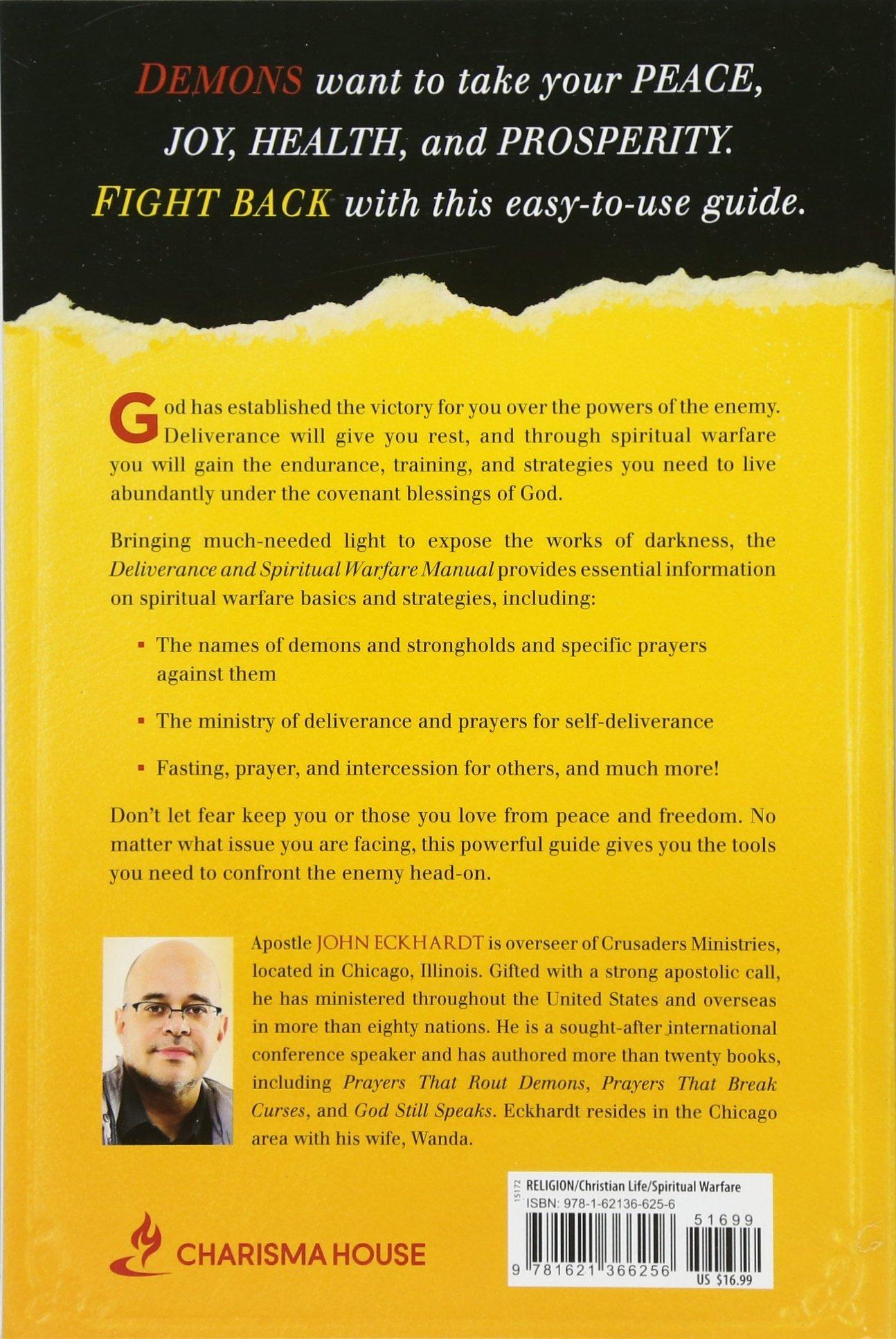 Deliverance and Spiritual Warfare Manual: A Comprehensive