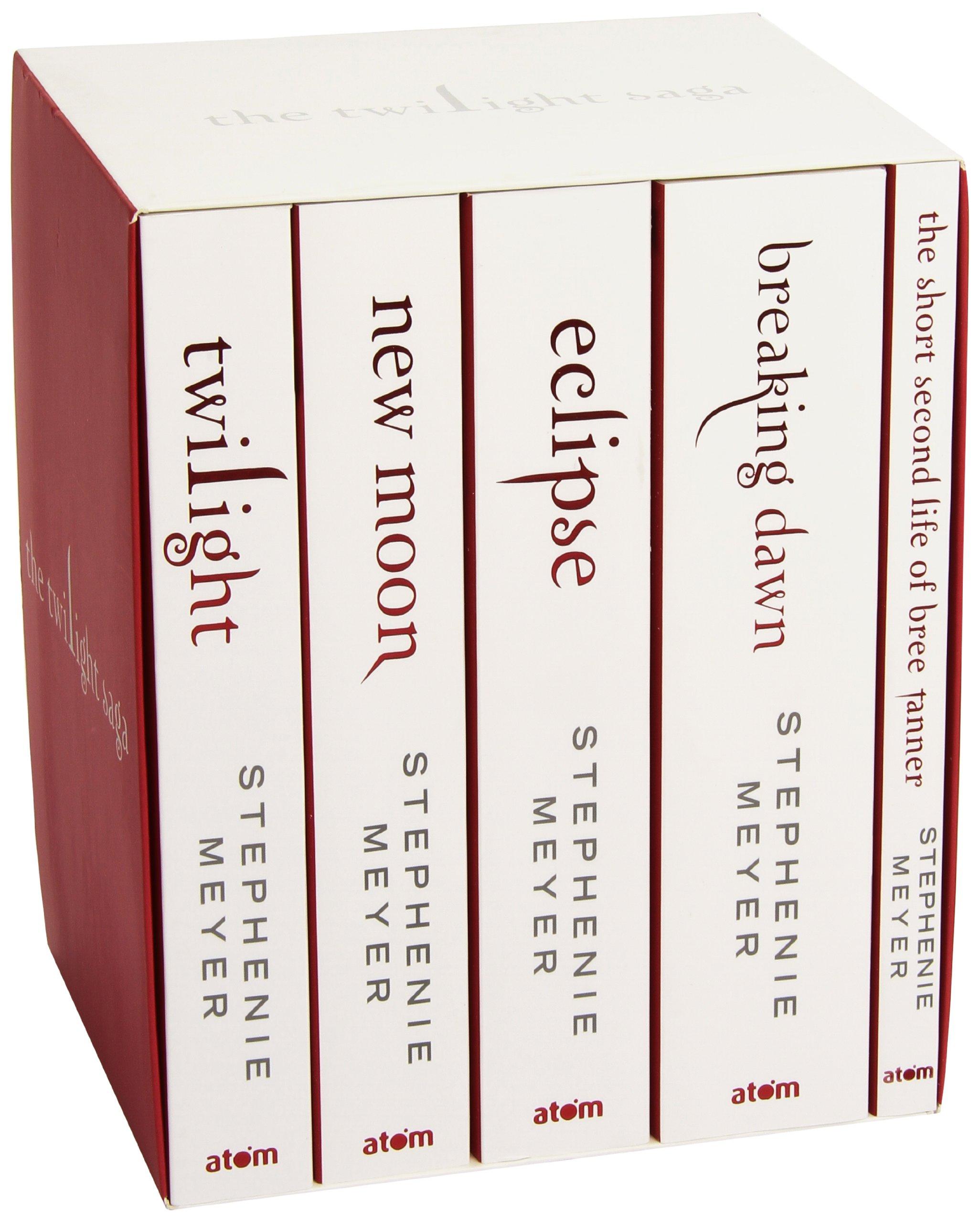 Twilight Saga (five Book Set): Amazon: Stephenie Meyer:  0000349001324: Books