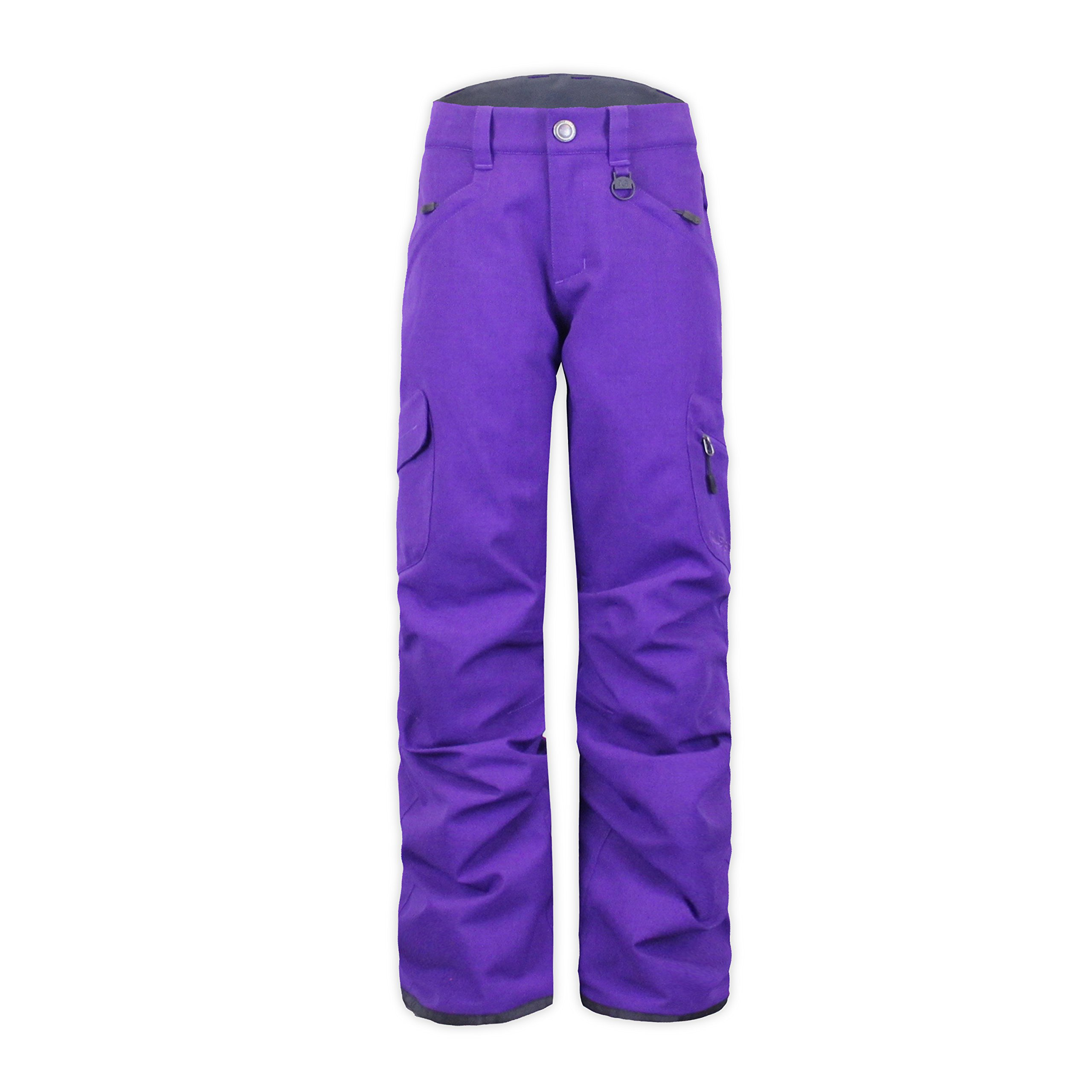 Boulder Gear 8915R Youth Girls Ravish Pant, Eggplant - XL